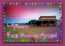 Fair Dinkum Award